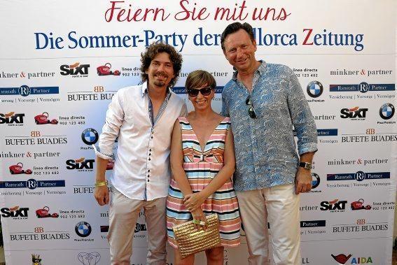 Constantin Rahmfeld, Maite Moreno und Matthias Neumann