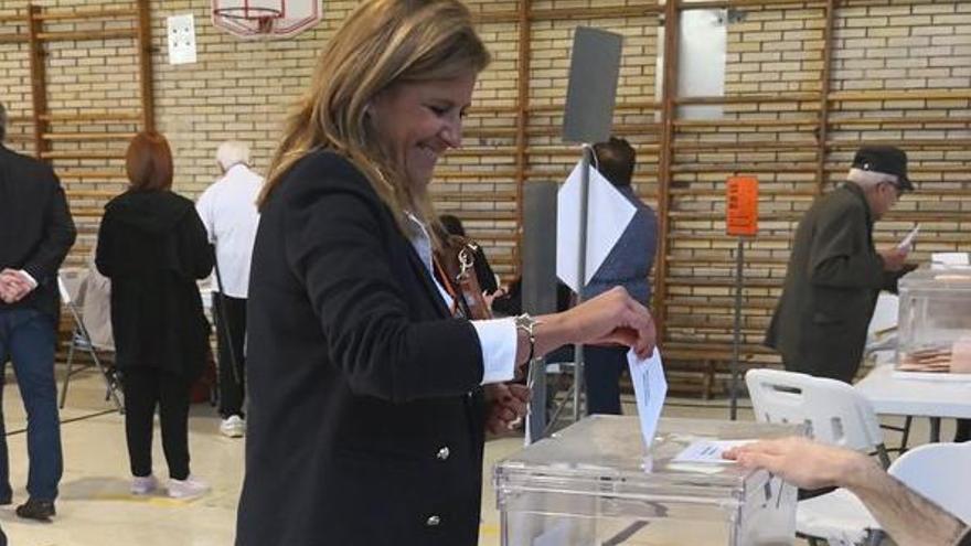 """María Rey, de Ciudadanos: """"Este resultado nos sigue afianzando en Pontevedra"""""""
