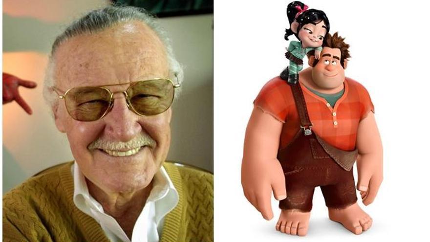 Así es el cameo de Stan Lee en 'Ralph Rompe Internet'