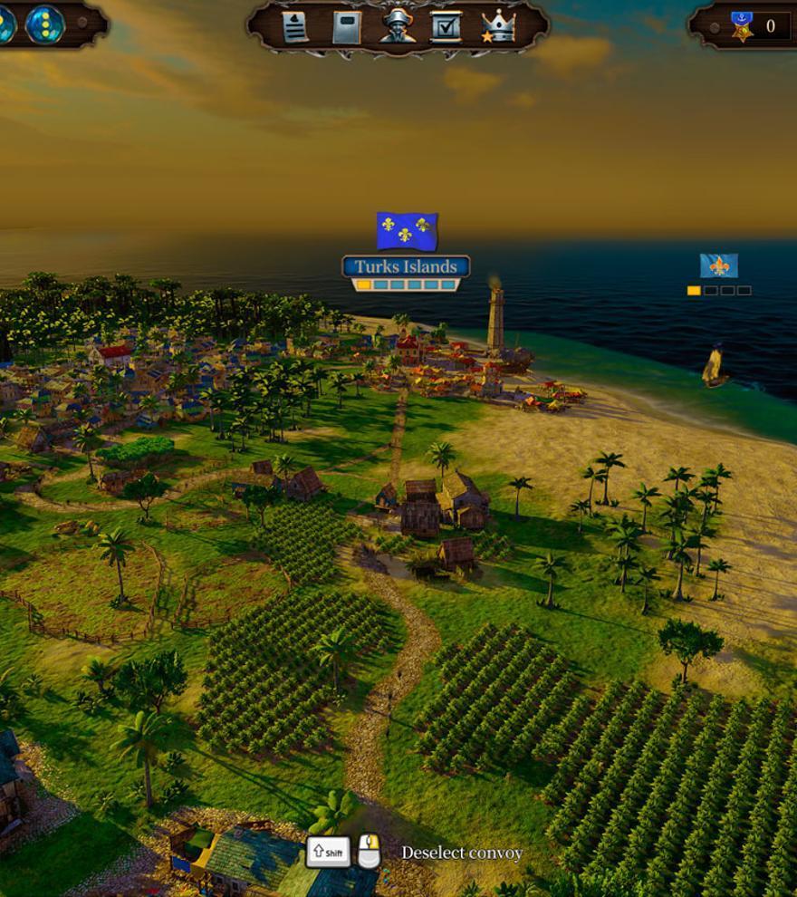 El comercio marítimo de Port Royale 4 pone rumbo a Nintendo Switch