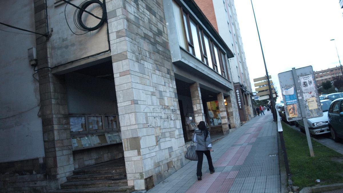 El antiguo cine de Siero.
