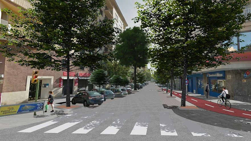 Iniciadas las obras de la calle General Ricardo Ortega