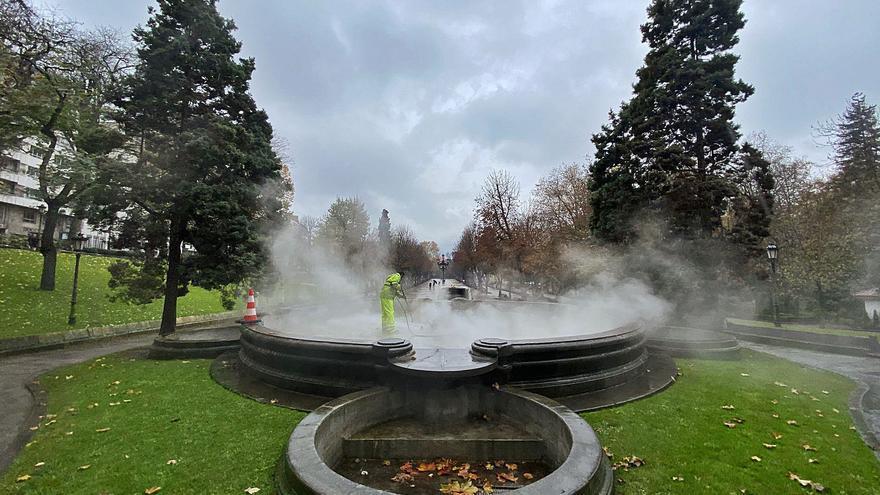 El Ayuntamiento prevé volver a encender las fuentes del Campo antes de fin de año