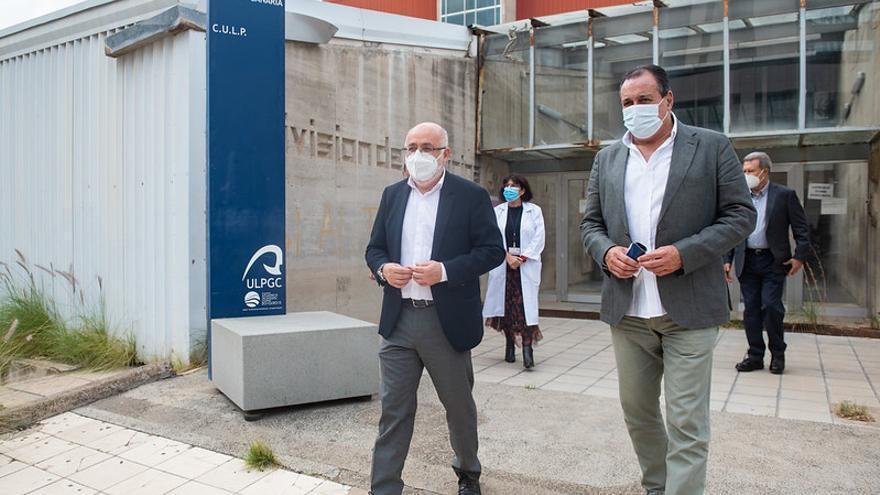 El CULP pasará a la Consejería de Sanidad para ampliar el Hospital Insular
