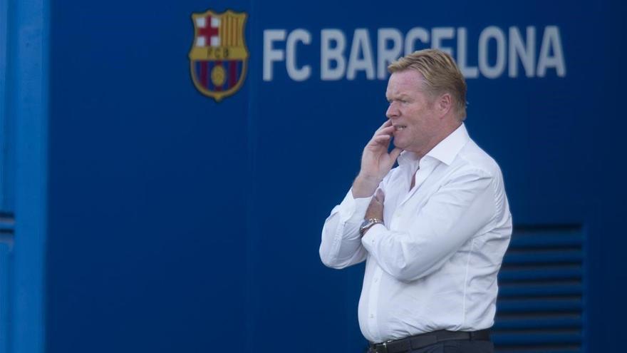 Koeman atribuye al club la responsabilidad de la baja de Suárez