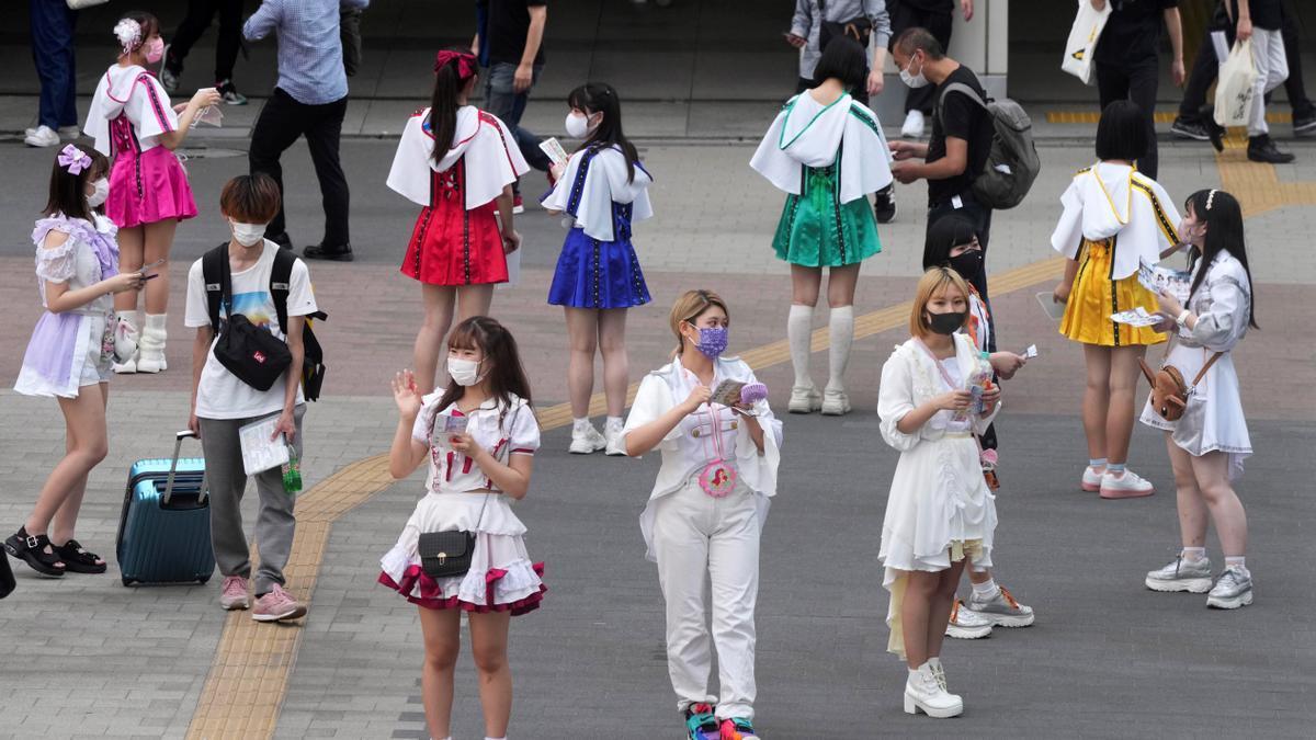 Nuevo récord de contagios en Tokio.
