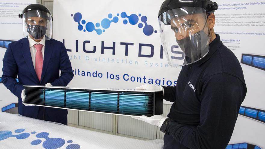 Lightdis: Solución inmediata para evitar la transmisión del covid-19 en ambientes interiores