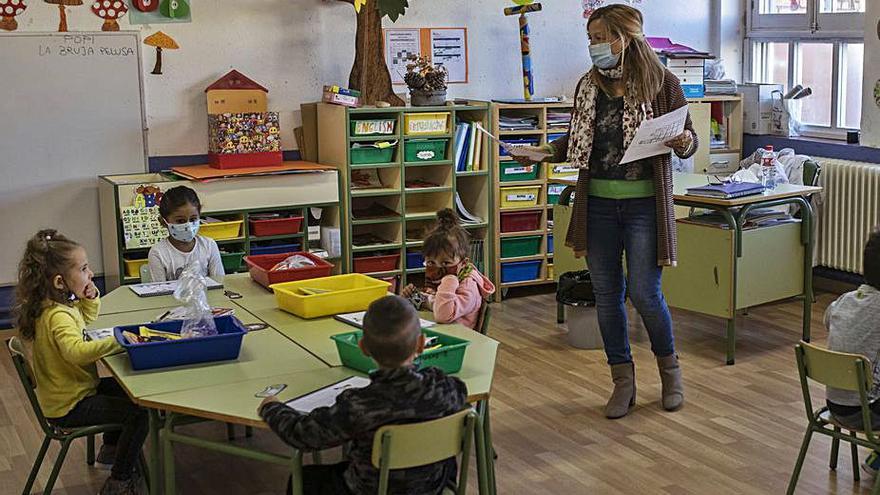 Los docentes luchan en Zamora contra el recorte de plantillas para el próximo año