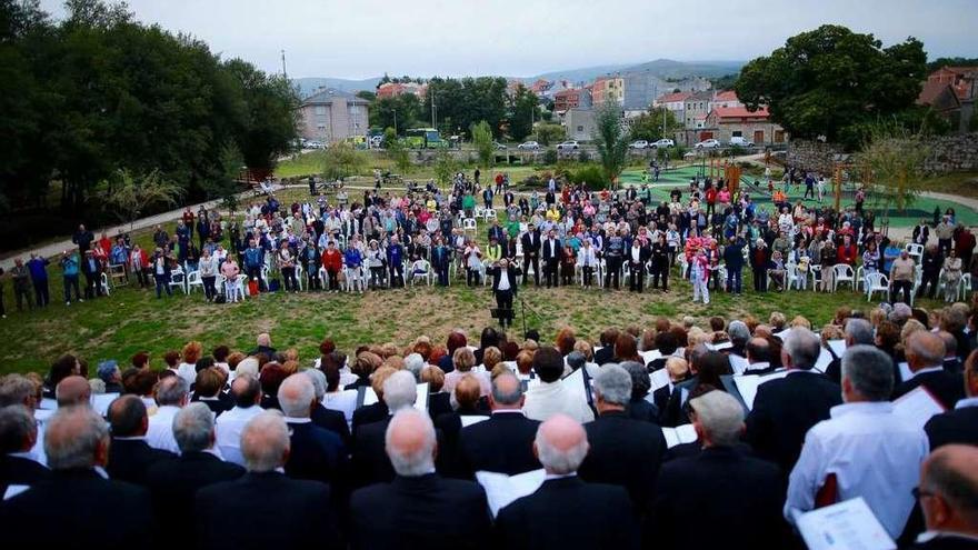 Domingo musical en Rodeiro y A Bandeira