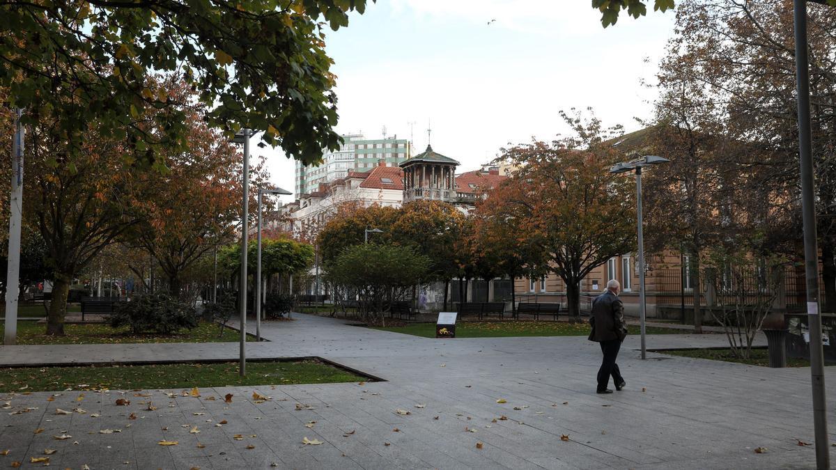 Plaza de Europa de Gijón.