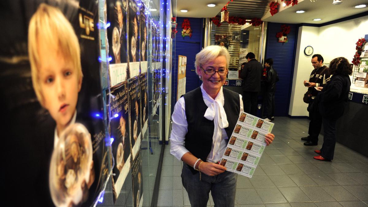 Administración de Loterías número 5 en el Centro Comercial Arousa de Vilagarcía
