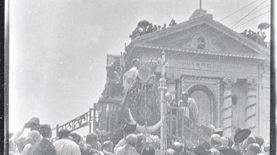 Película de la coronación de la Virgen de la Fuensanta (1927)