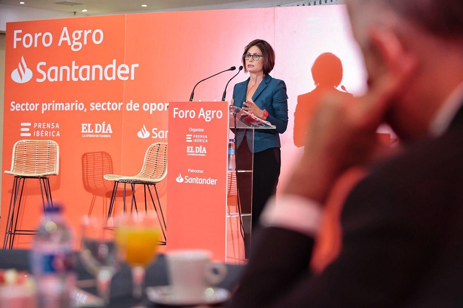 Foro Agroalimentario del Grupo Santander y El Día