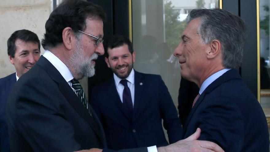 Rajoy y Macri refrendan la nueva sintonía en la relación entre España y Argentina
