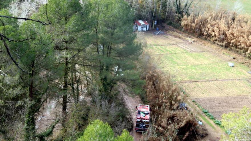 Els Agents Rurals localitzen el vehicle del veí de Jorba mort a causa del temporal