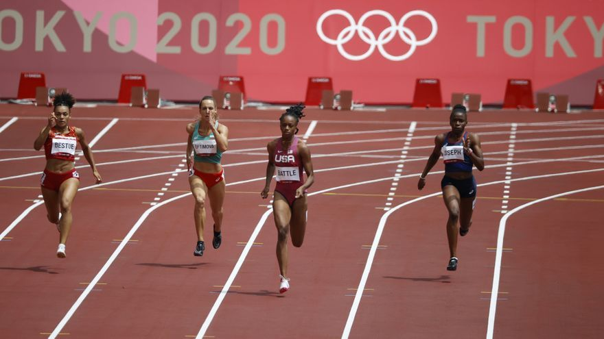 Jaël Bestué, eliminada en las series de 200 metros pese a su mejor marca personal