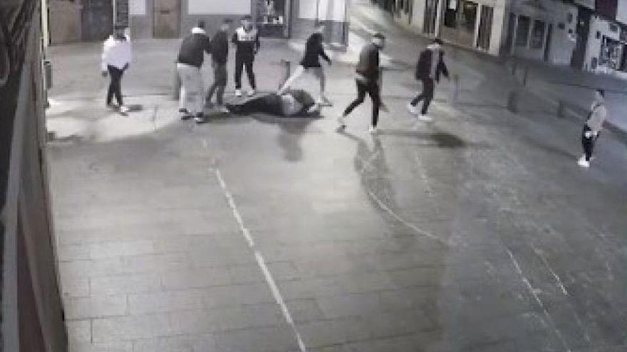 Ocho detenidos, incluidos tres menores, por dar una paliza a un militar en Huesca