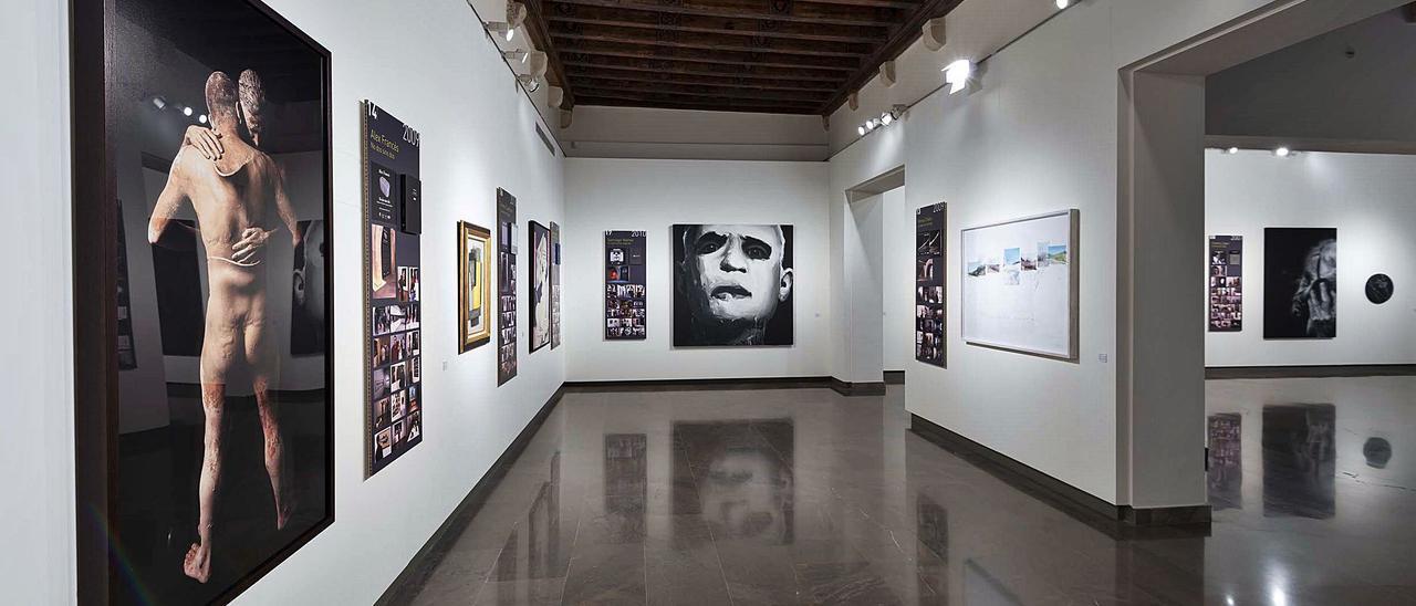 Una de las salas de la Chirivella Soriano.  pd