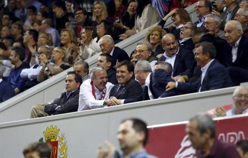 Partido del Casademont contra el Real Madrid