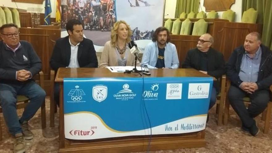 Oliva viaja a Fitur con una apuesta decidida por el turismo deportivo