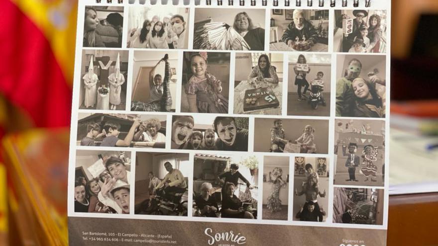 Turismo confecciona un calendario con más de 270 fotografías ciudadanas y del confinamiento de El Campello
