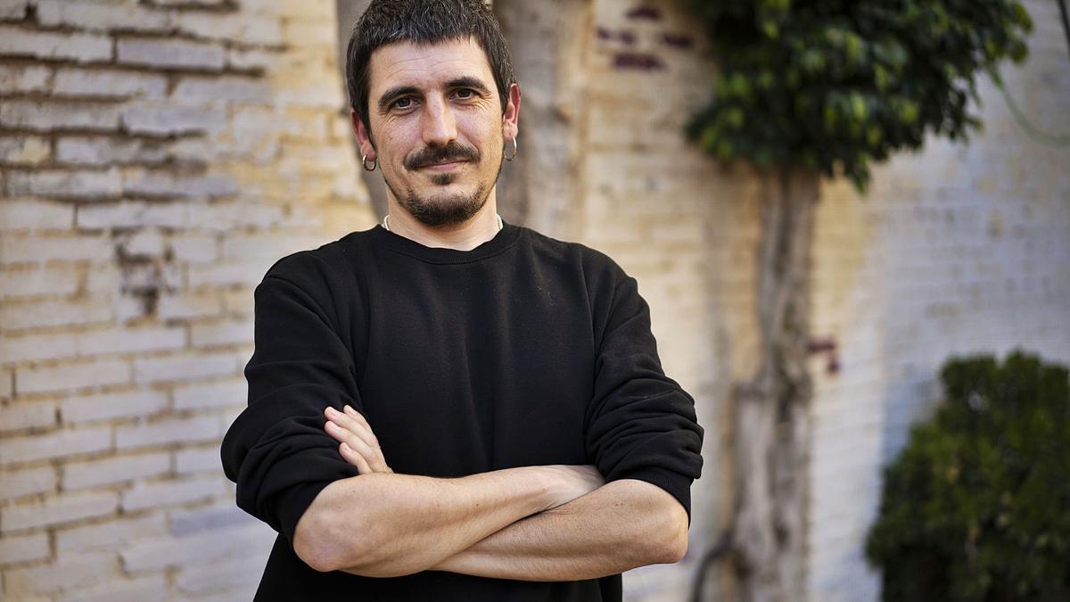 Panxo, cantante y  compositor de la banda  valencia Zoo.  Germán Caballero