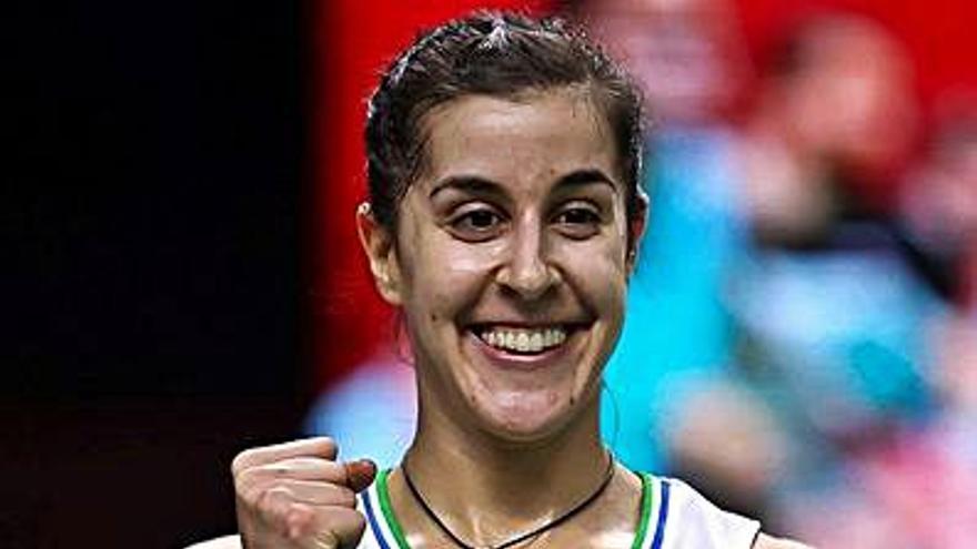 Carolina Marín luchará por su tercer título seguido