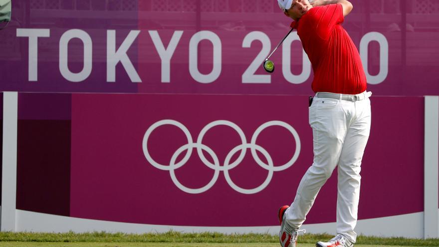 El golfista austríaco Strakka, primer líder con -8; Arnaus a 5 golpes y Campillo, a 7