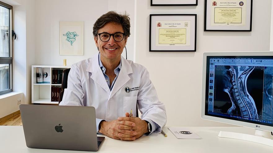 El doctor Javier Sendra abre en Elche nueva consulta especializada en columna vertebral