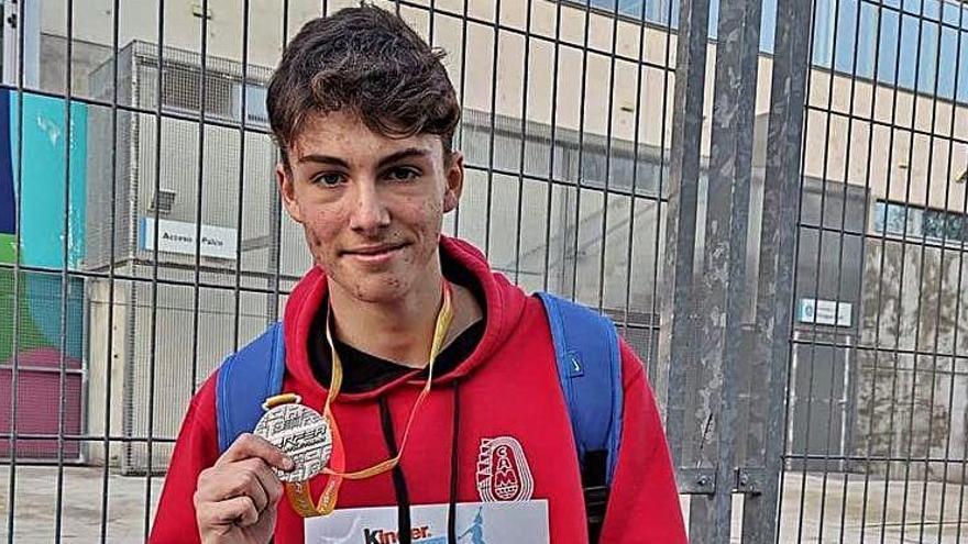 L'Avinent Manresa obté tres medalles a l'estatal sub-16