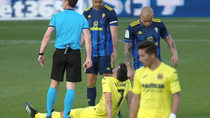 Gerard Moreno no sufre lesión muscular y sigue en la concentración de la selección