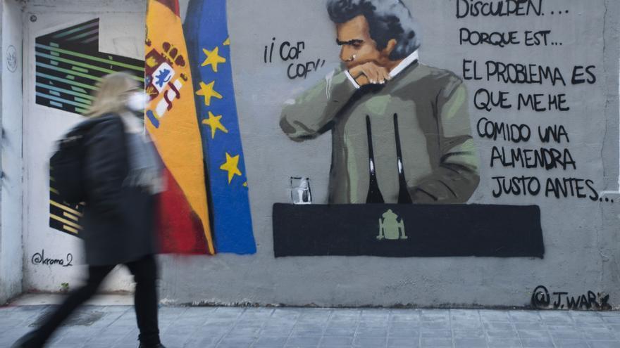 Los grafitis más curiosos sobre el coronavirus en València