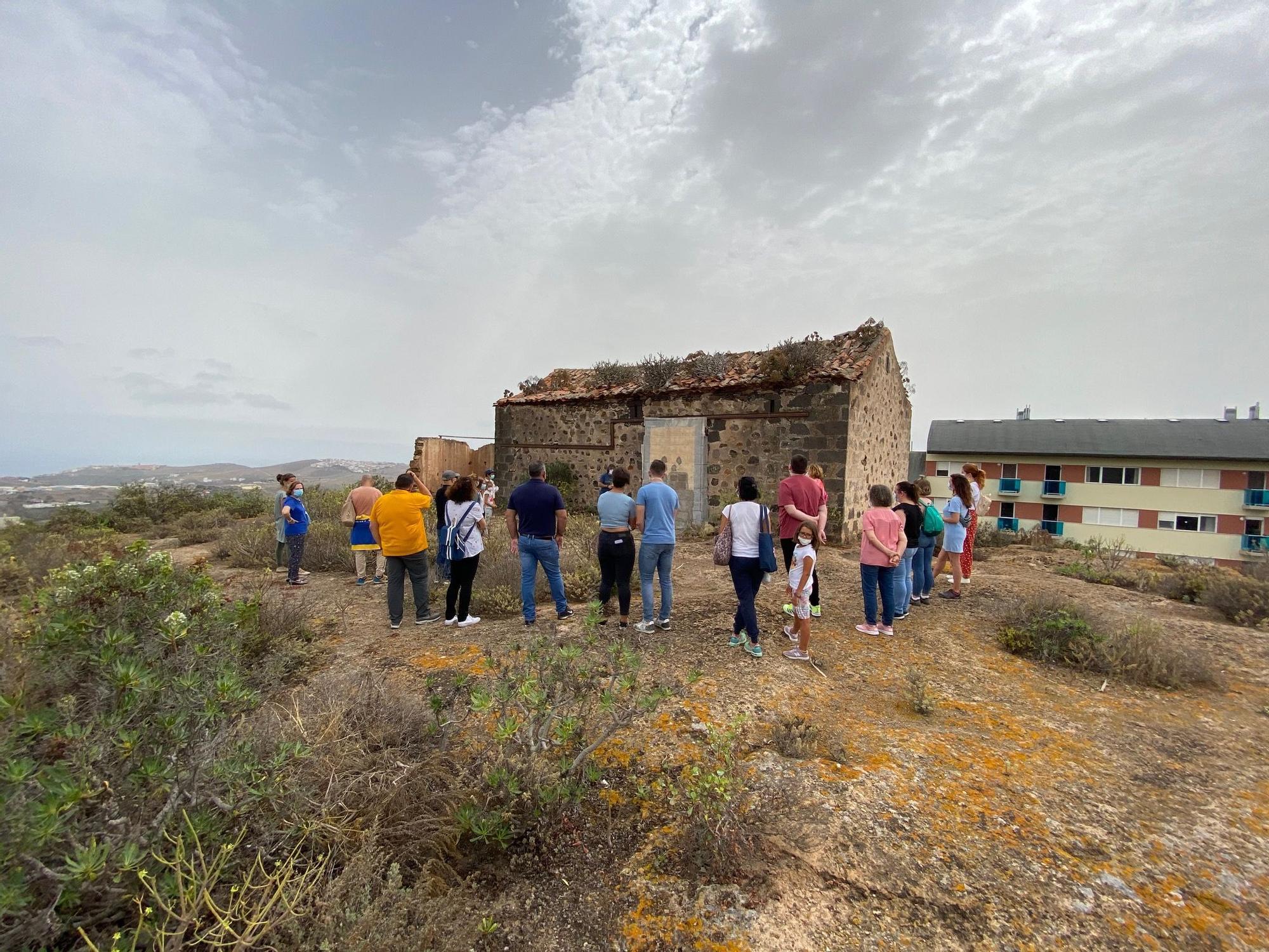 Visitas al cortijo de San Gregorio organizadas por el colectivo Bentejui