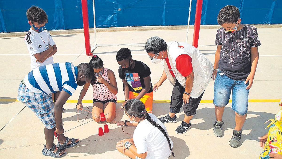 Imagen de archivo de uno de los campamentos de verano de Save The Children.