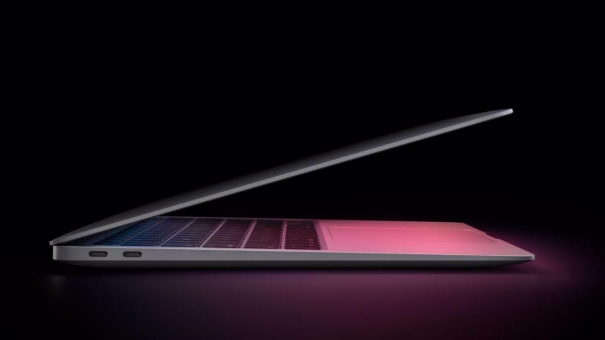 Un MacBook Air.
