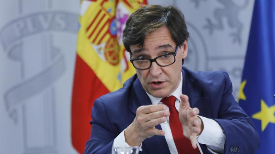 Sanitat proposa el tancament perimetral de Madrid i deu ciutats més de la comunitat