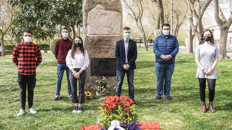 Versos en Zamora para rendir homenaje a los represaliados por el Franquismo