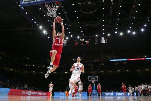 Eurobasket: España - Polonia