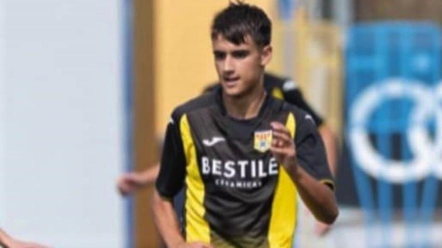 El cordobés Dani Reyes, con la selección española sub-15