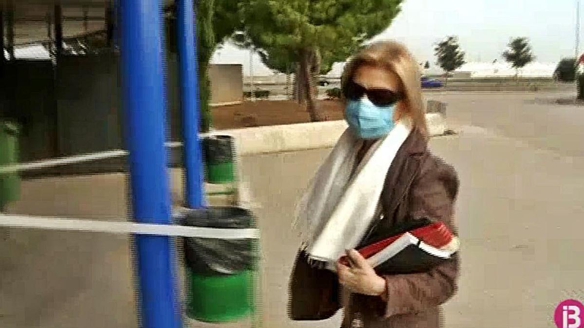 Maria Antònia Munar volvió ayer a la cárcel tras disfrutar de varios días de permiso.