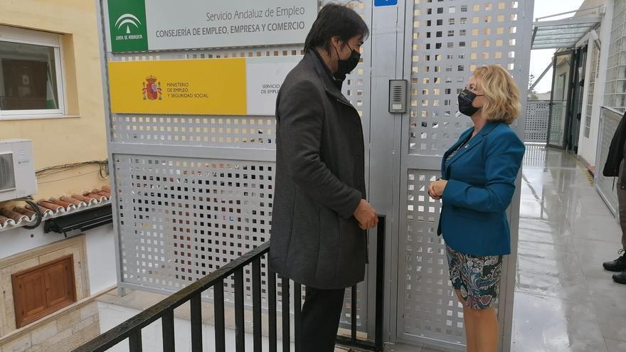 La Junta busca nuevos locales para trasladar las oficinas del SAE de Marbella y Estepona