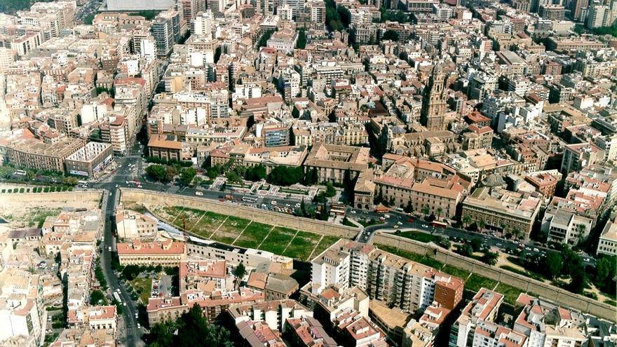 El centro de Murcia, Juan Carlos I y Juan de Borbón, los barrios más caros donde comprar casa en la Región