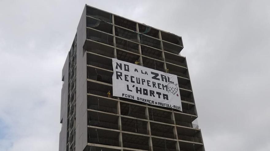 Protesta anti-ZAL desde Sociópolis