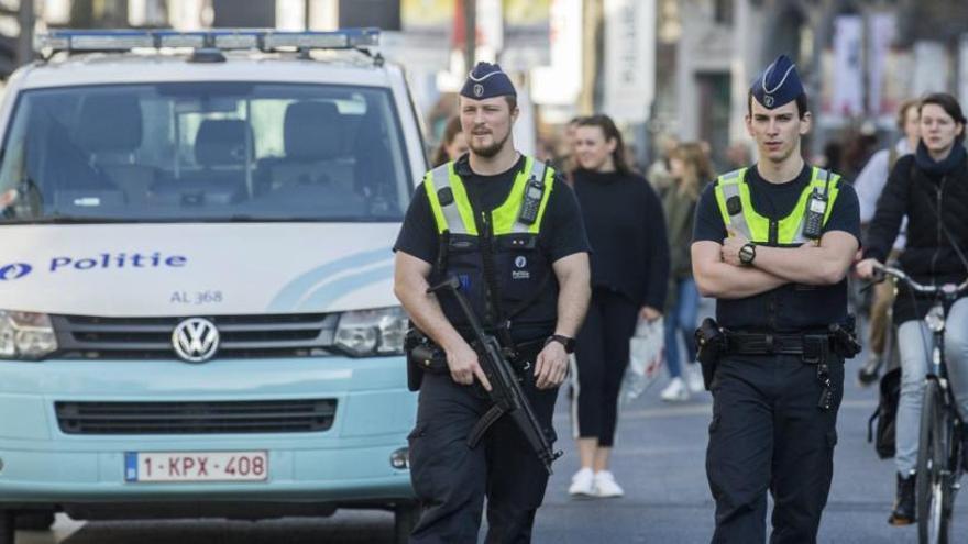 El detenido en Amberes, imputado por un intento de asesinato terrorista