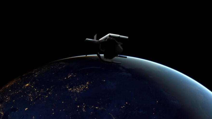 La ESA lanzará en 2025 una nave para retirar basura espacial