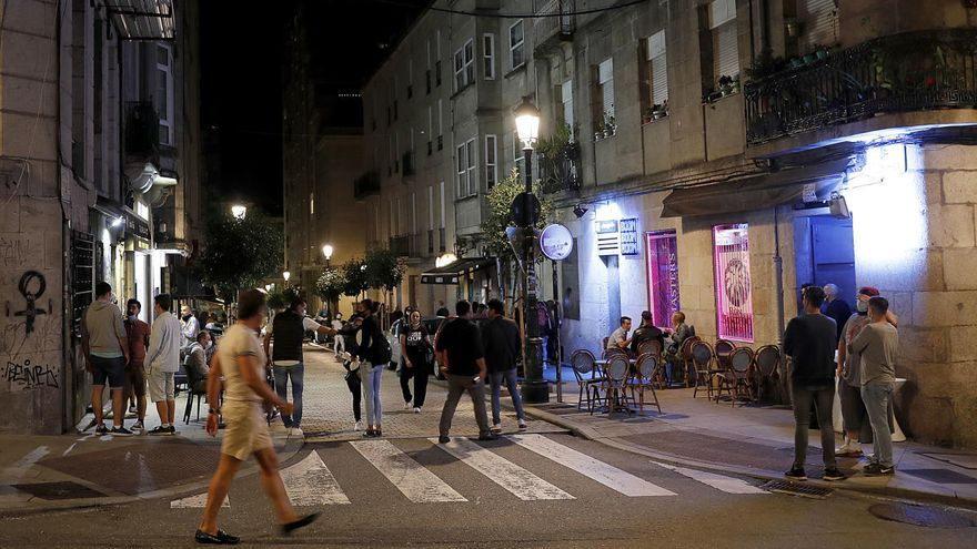 Cuatro peleas en la última noche de apertura de los locales nocturnos en Vigo
