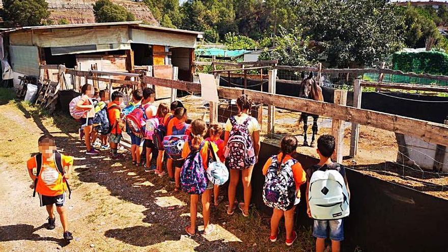 L'edició del Casal d'Estiu de Sallent aplega més de 160 infants