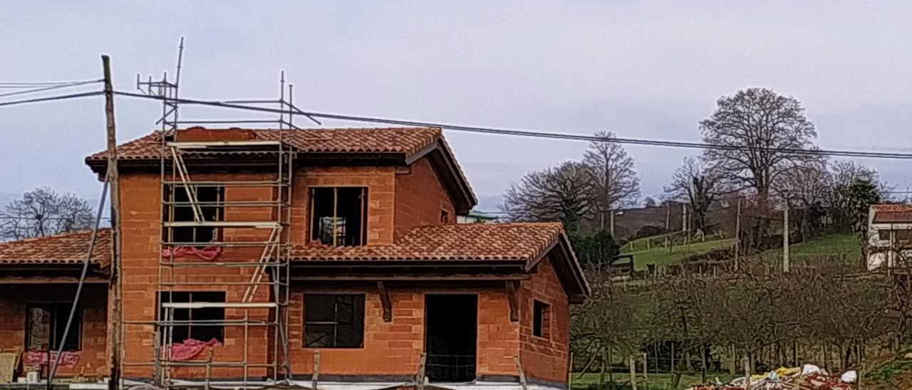 La fuerte demanda fai medrar un 61% la construcción de xalés n'Asturies
