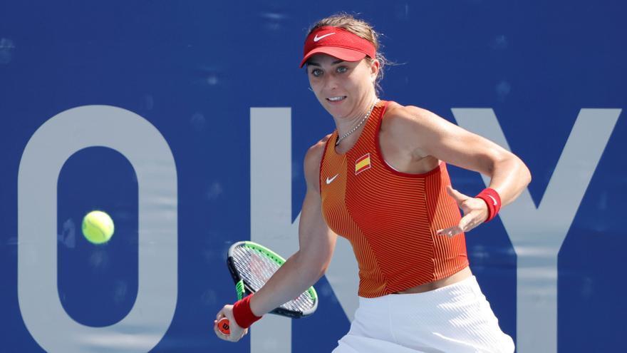 La tenista gironina Paula Badosa a vuitens dels Jocs de Tòquio