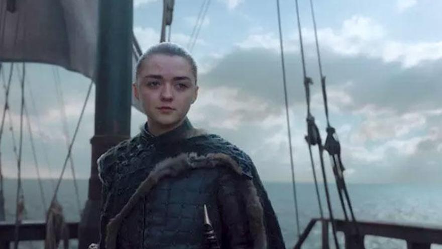 Arya Stark en 'Juego de tronos'.
